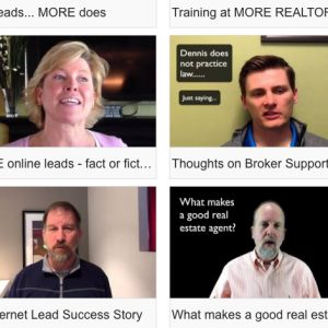 Agents, if you are looking for a company that will help you get leads, grow your business and do it all the right way, then MORE is for you!